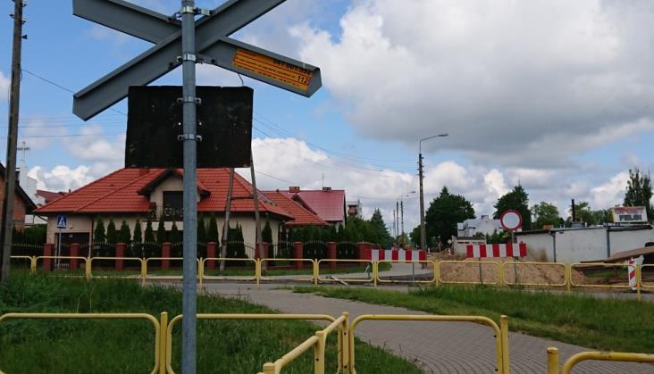 PLK: Żółta naklejka zapobiegła wypadkowi w Wodzisławiu Śląskim