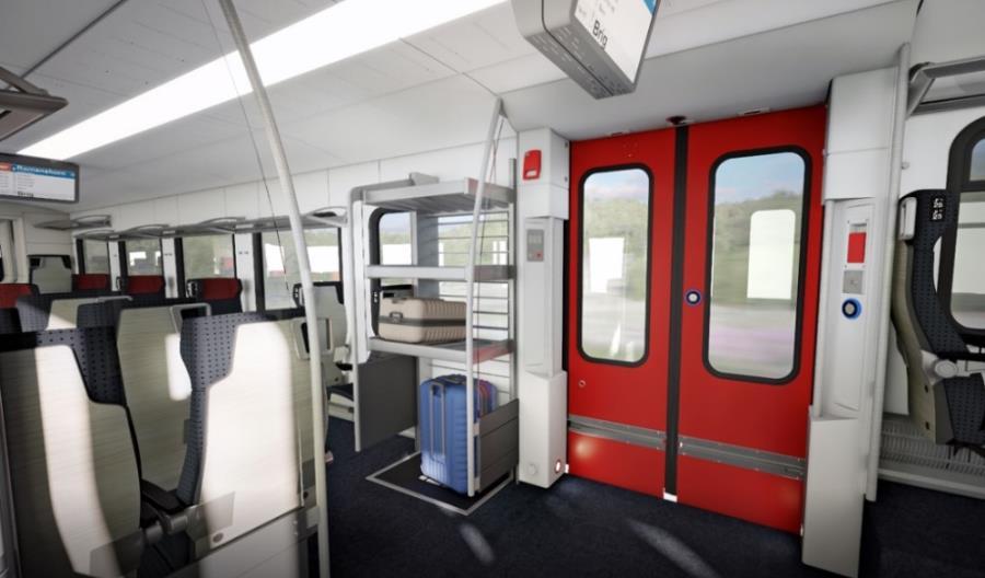 Stadler dostarczy kolejne Flirty Kolejom Szwajcarskim