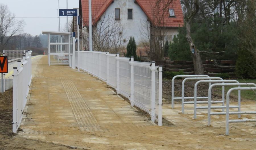 Powstały nowe perony w Drawsku Pomorskim, Rzęśnicy i Suliszewie [zdjęcia]