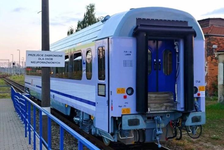 30 zmodernizowanych wagonów z nowymi wózkami już w PKP Intercity
