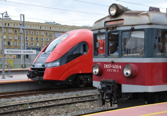 W Kujawsko-Pomorskiem będzie przetarg na przewozy kolejowe na 15 lat