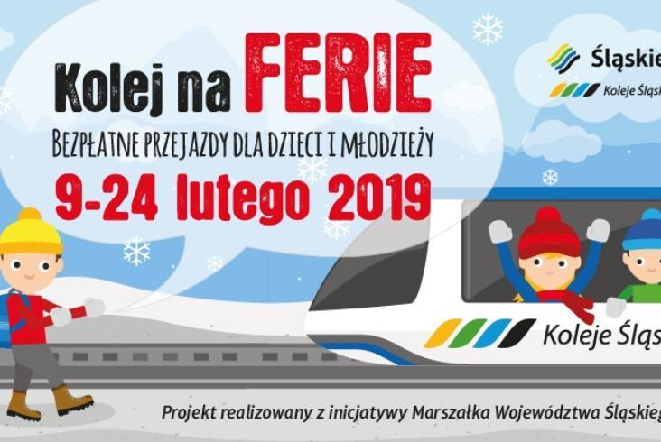 Duża promocja Kolei Śląskich. Dzieci nie płacą za pociąg przez całe ferie