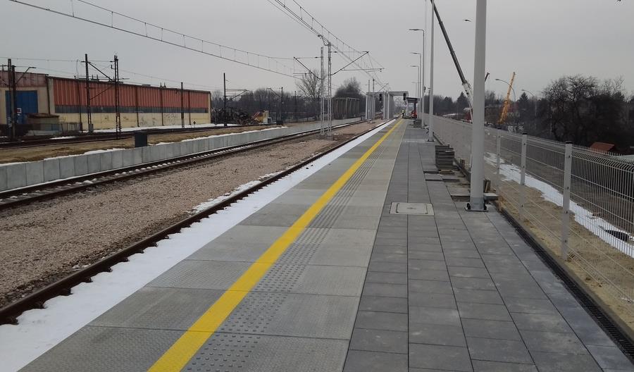 Trwa modernizacja torów i stacji w Rzeszowie [zdjęcia]