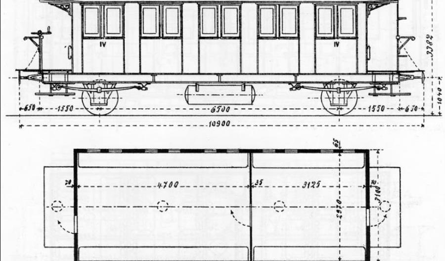 Muzeum w Jaworzynie wzbogaciło się o 118-letni wagon pasażerski serii Bi