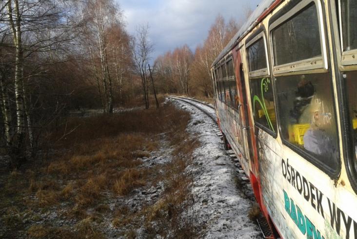 Koszalińska Wąskotorówka zimą