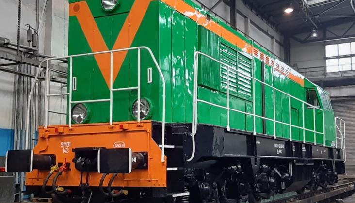 Lokomotywa SM31-143 w nowych barwach