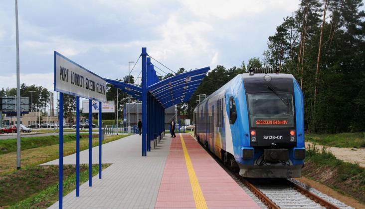 Szczecin: Dodatkowych pociągów w aglomeracji na czas robót drogowych nie będzie