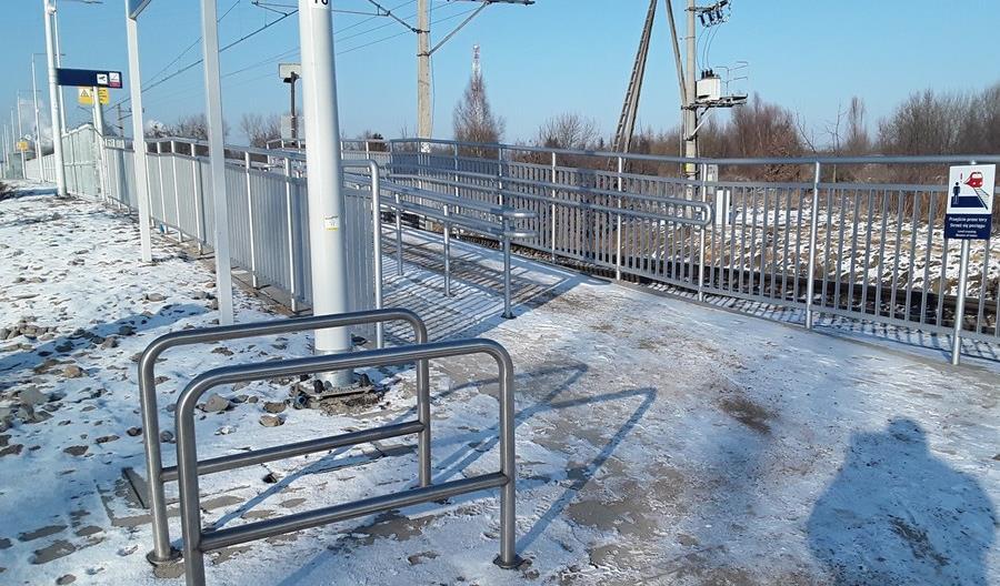 Przebudowa stacji i nowy przystanek Morąg Kolonia