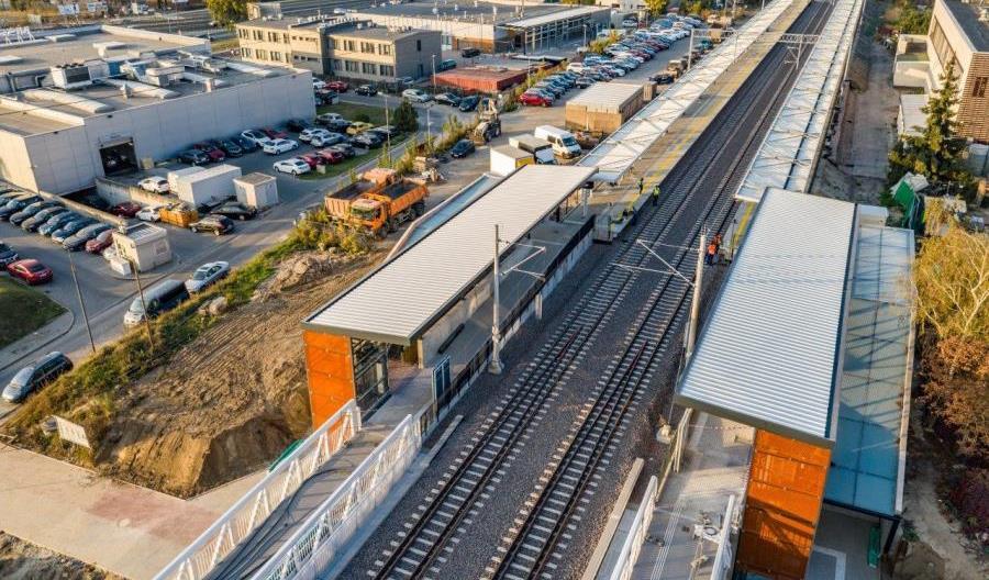 Kolejowa linia obwodowa w Warszawie nagrodzona Diamentem Infrastruktury i Budownictwa