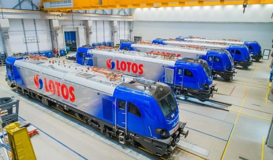 Newag dostarczy pięć lokomotyw Lotosowi. Dragony i Griffiny