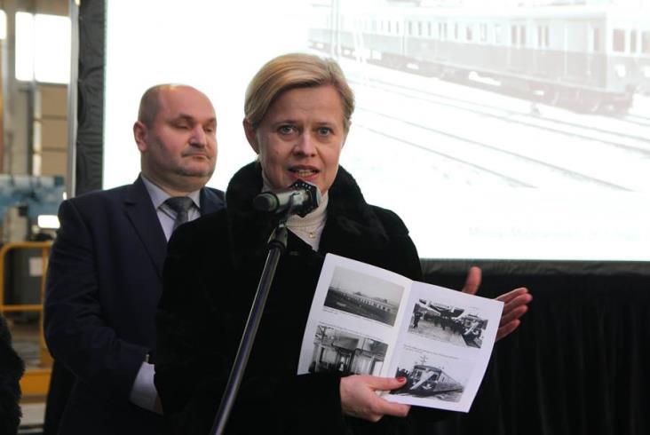 Oficjalna prezentacja EW51-36 w ZNTK Mińsk Mazowiecki [zdjęcia i film]