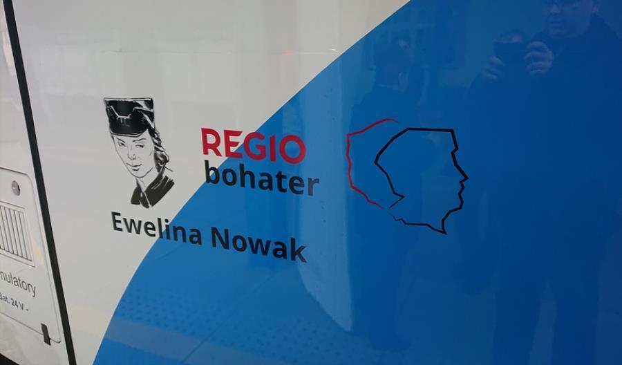 Regiobohaterka Przewozów Regionalnych w Kołobrzegu