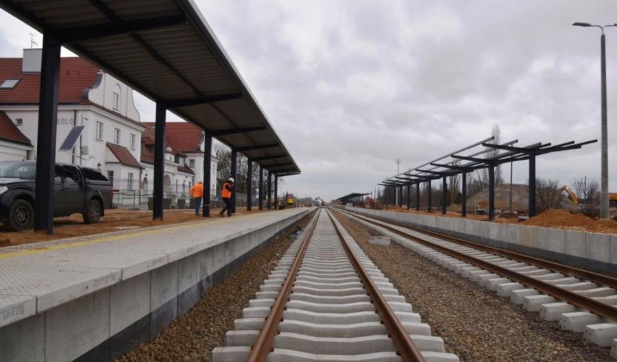 W Kole powstają nowe perony. W czerwcu już bez objazdu przez Gniezno
