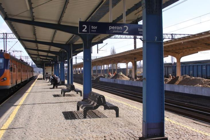 Historyczny styl stacji Piła Główna