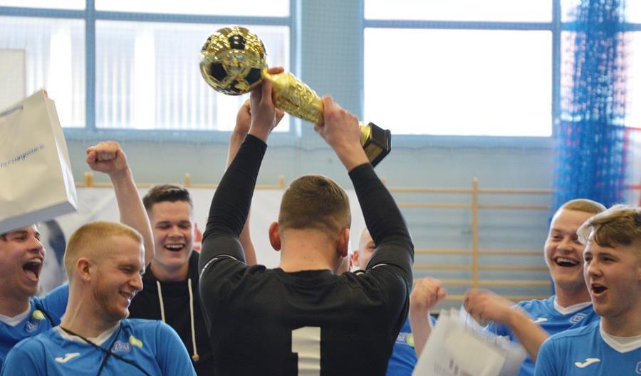 Znamy finalistów II Mistrzostw Polski Kolejowych Szkół Średnich w Futsalu