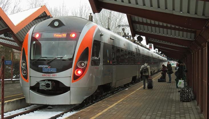 Co drugi pociąg w relacji Polska – Ukraina był opóźniony