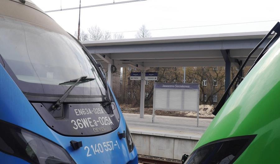 Trwają prace na stacji Jaworzno Szczakowa