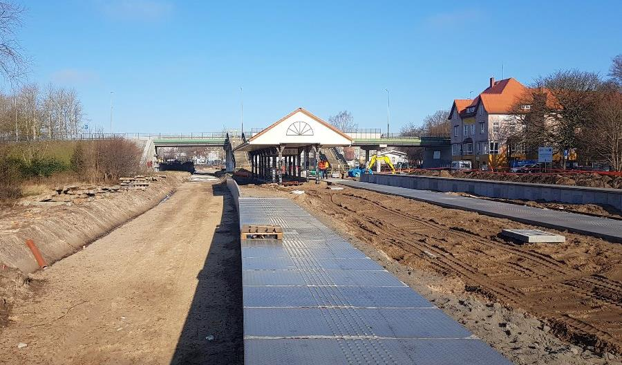 PLK budują nowy przystanek w Słupsku [zdjęcia]