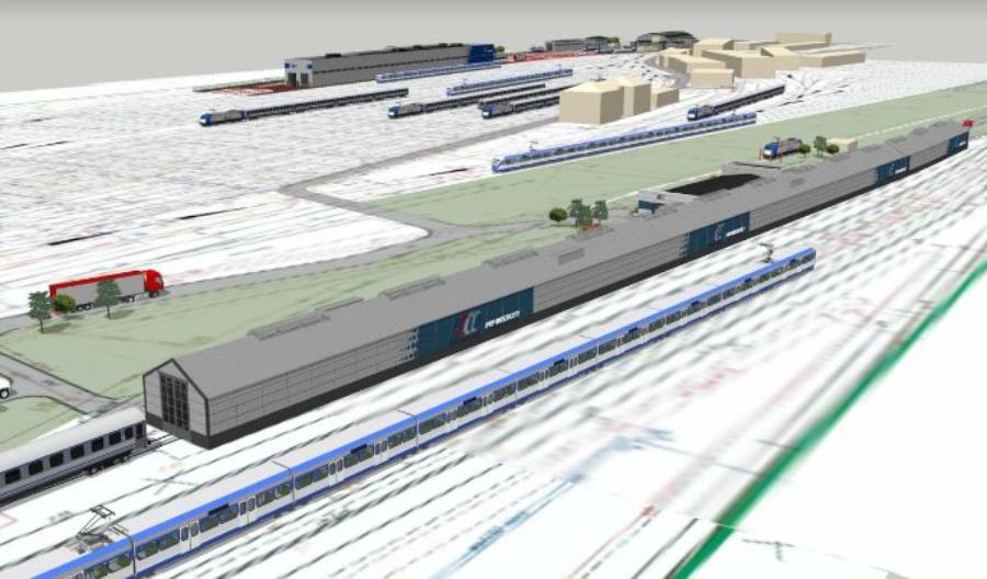 PKP Intercity będzie miało nową myjnię całoroczną