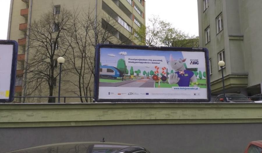 Kampania Kolejowe ABC widoczna w największych polskich miastach