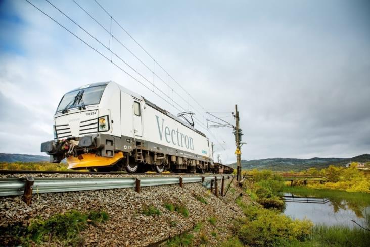 Ponad 900 sprzedanych lokomotyw Vectron w Europie