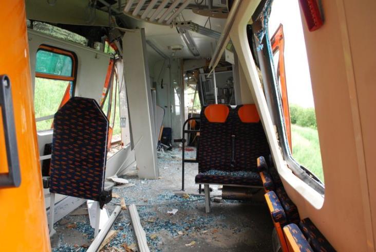 Na przejeździe zginął kierowca. Państwowa Komisja zbagatelizowała brak widoczności