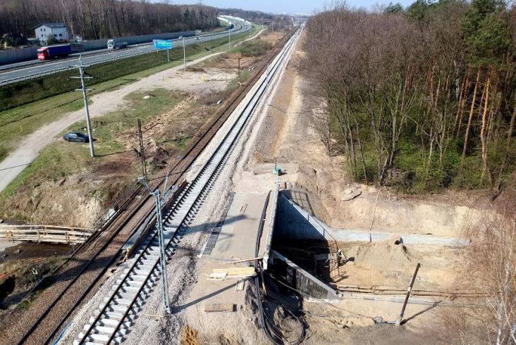 W maju kolejny etap prac na odcinku E30 Kraków – Rudzice