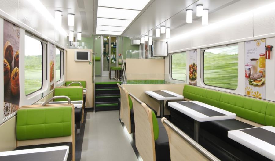 Finowie zamawiają nowoczesne piętrowe wagony restauracyjne [zdjęcia]