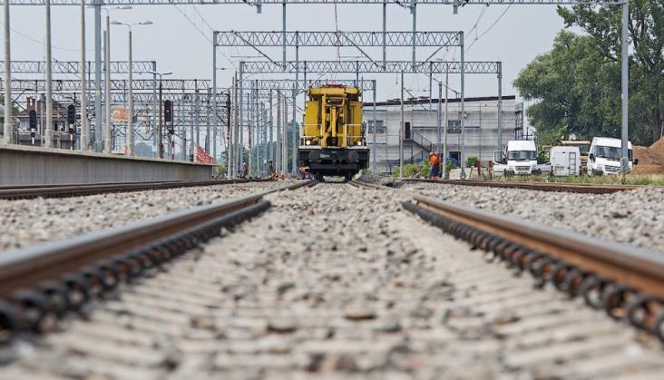 Kolejny fragment linii kolejowej między Kutnem a Toruniem do naprawy