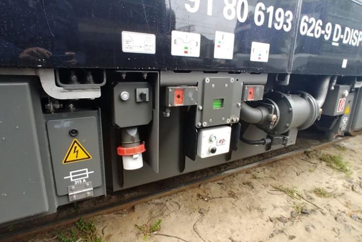 PKP Intercity wynajmuje lokomotywę Siemens Vectron [zdjęcia Czytelników]