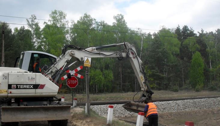 Trwa remont torów na odcinku Kutno – Płock
