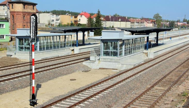 Czerwcowy powrót pociągów na odcinek Szczecinek – Ustka nie jest zagrożony