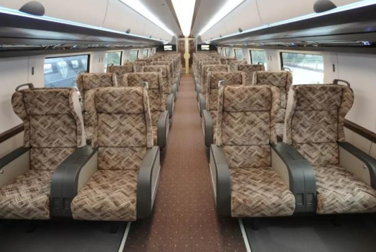 CRRC pokazało swój nowy magnetyczny pociąg [zdjęcia]