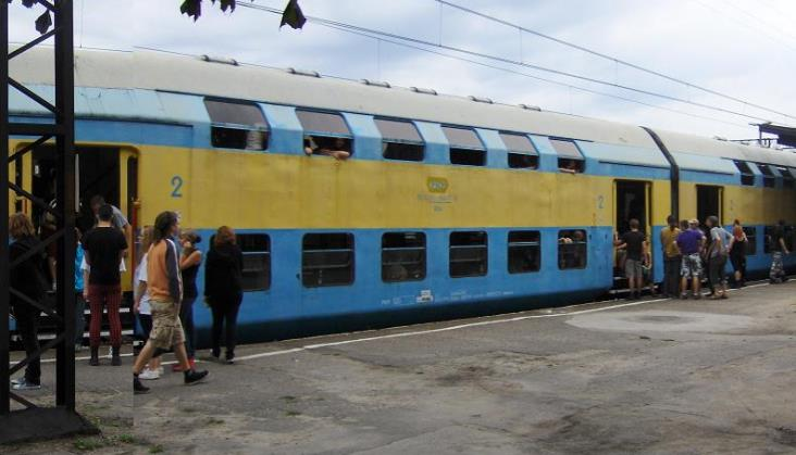 Nie będzie specjalnych pociągów musicRegio na Pol'And'Rock (ex. Przystanek Woodstock)