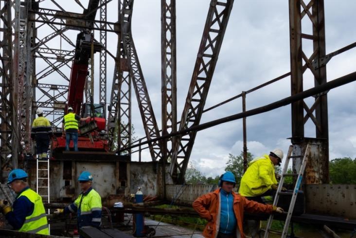 Ruszył remont mostu na Sanie między Lublinem a Stalową Wolą