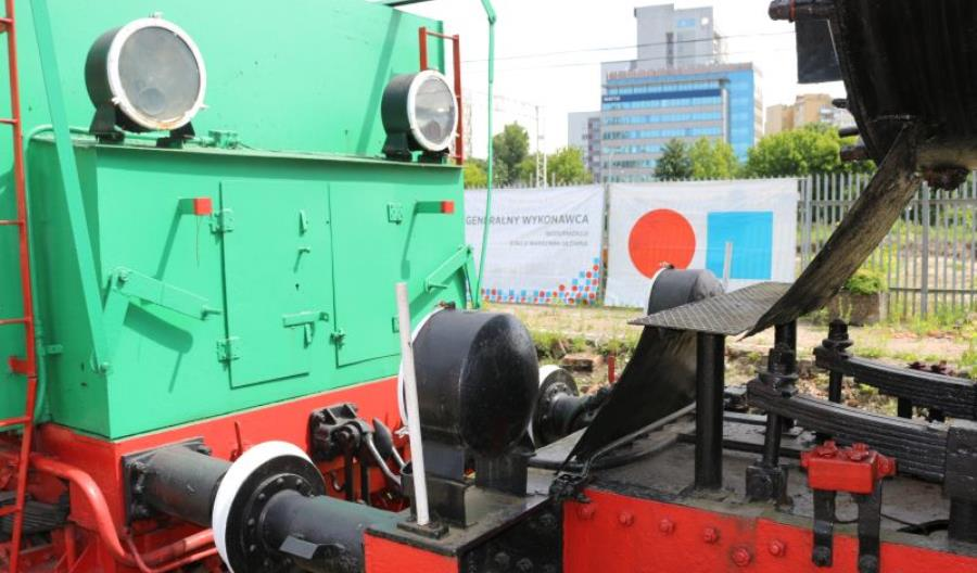 Tabor Muzeum Kolejnictwa w nowym miejscu [szczegóły prac]