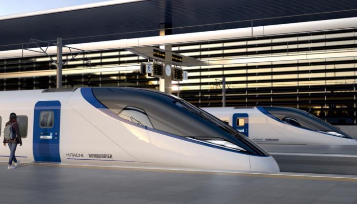 Bombardier i Hitachi pokazują projekt pociągu dla brytyjskiej HS2