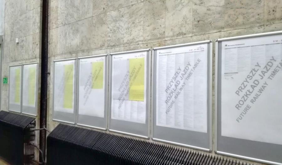 Warszawa Śródmieście: 1207 adnotacji do rozkładu
