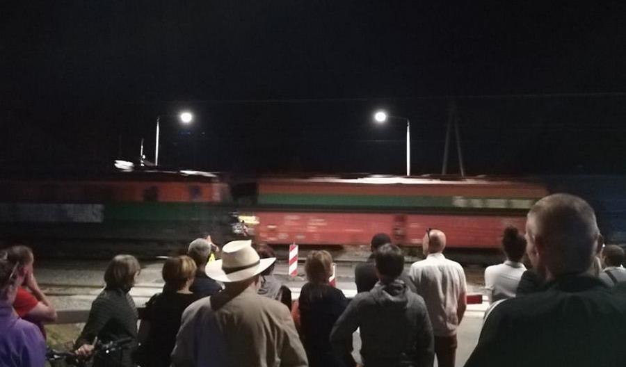 Protest zatrzymał inaugurację połączeń do Lubina. Skandaliczna wypowiedź prezydenta miasta