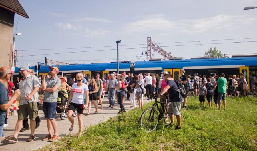 Koleje Śląskie zorganizowały przejazd przez KWK Halemba [zdjęcia]