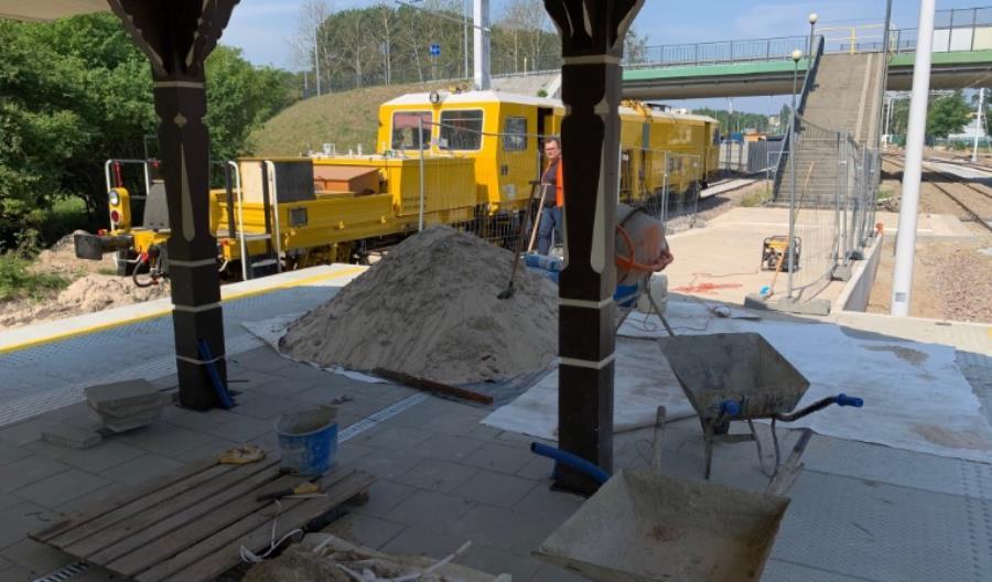 Trwa walka z czasem na linii Słupsk – Ustka. Czy pociągi wrócą 20 czerwca?