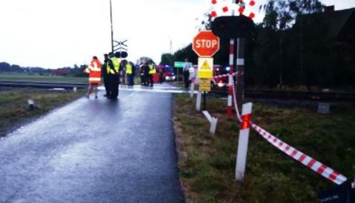 Pięć osób zginęło na przejeździe pod Wrocławiem