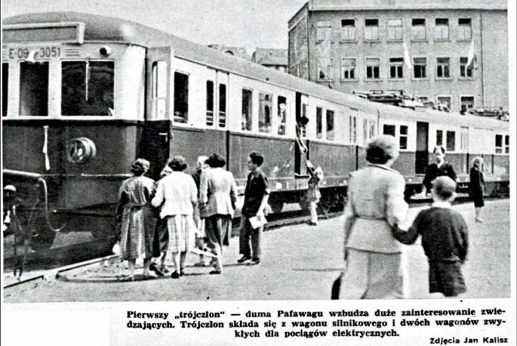 Elektrycznym z Warszawy do Łodzi