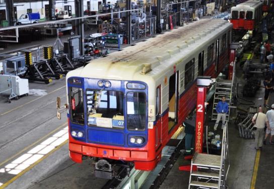 Metro podpisało umowę z ZNTK Mińsk Maz. na naprawę główną 40 wagonów rosyjskich