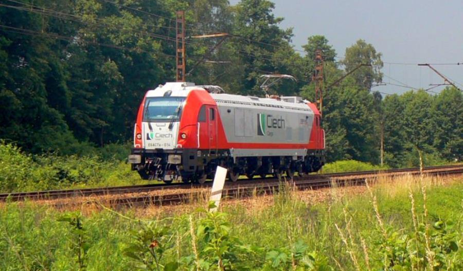 Grupa Ciech pozyskała nowoczesną polską lokomotywę Dragon 2