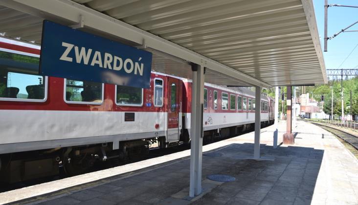 Modernizacja linii kolejowej z Żywca do Zwardonia odłożona na kolejne lata