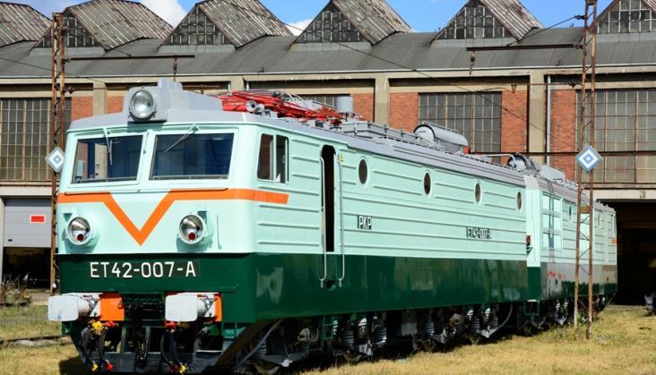 Prezentacja lokomotywy w Karsznicach