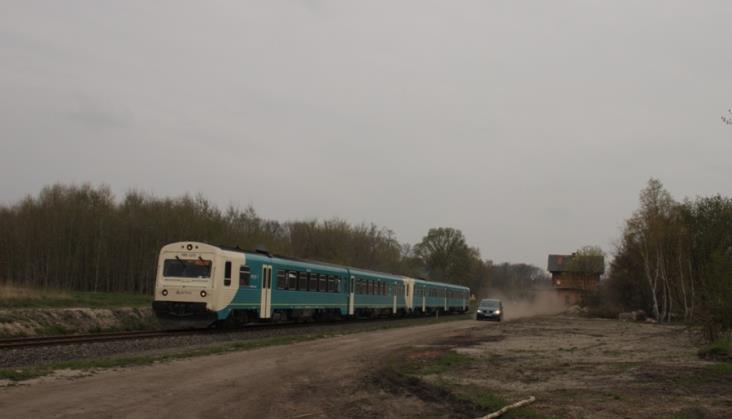 Linia Jankowa Żagańska – Przewóz po remoncie na potrzeby wojska