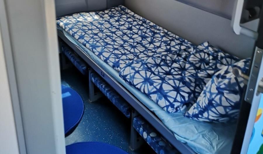 Ikea urządziła wagon sypialny Bułgarskich Kolei [zdjęcia]