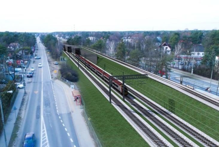 Czwarty tor na linii nr 7 przez warszawski Wawer. Jest zamówienie na projekt za 2,5 mln zł